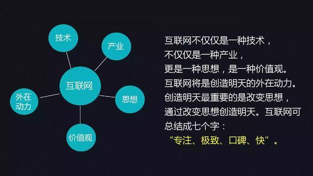 互联网 倒逼制造业升级 三,互联网九大思维 ➊什么是互联网思维图片